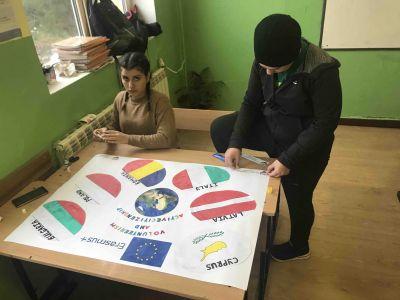 """Еразъм +, Проект """"Volunteerism and Active Citizenship"""" (""""Доброволчество и активни граждани"""") - Изображение 5"""